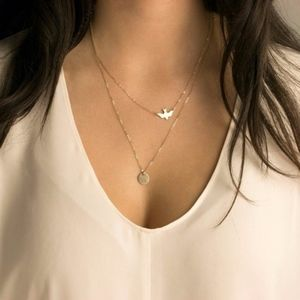 Delicate Bird Necklace